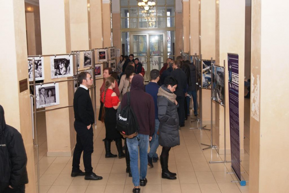 "Photography exhibition ""Port of registration - Kaliningrad"" has been started in KSTU"
