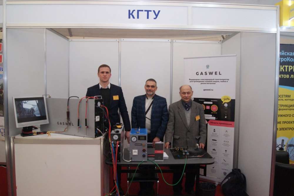 Gaswel represented KSTU at Baltic –Expo exhibition